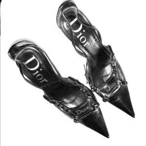 Dior pointed toe heels